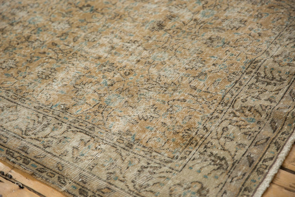 Vintage Distressed Oushak Carpet / ONH item 7086 Image 5