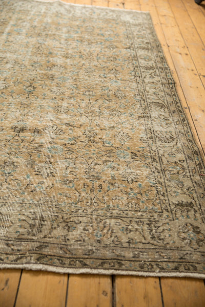 Vintage Distressed Oushak Carpet / ONH item 7086 Image 6
