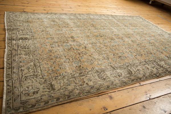 Vintage Distressed Oushak Carpet / ONH item 7086 Image 8