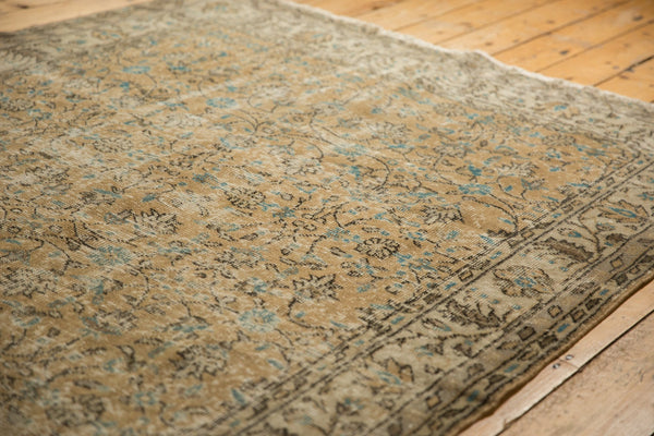 Vintage Distressed Oushak Carpet / ONH item 7086 Image 9