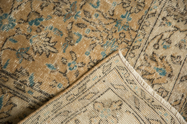 Vintage Distressed Oushak Carpet / ONH item 7086 Image 11