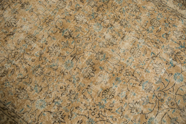 Vintage Distressed Oushak Carpet / ONH item 7086 Image 12
