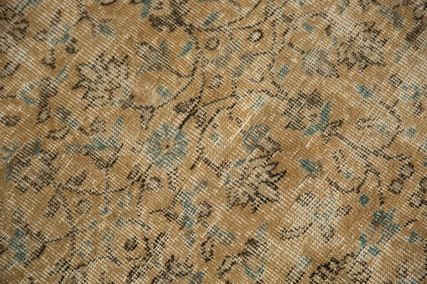 Vintage Distressed Oushak Carpet / ONH item 7086 Image 13