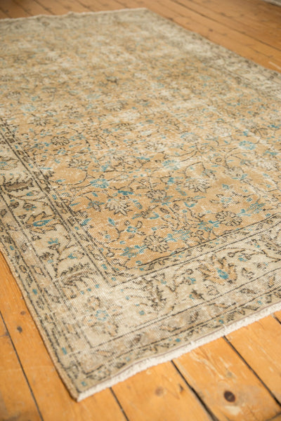 Vintage Distressed Oushak Carpet / ONH item 7086 Image 14