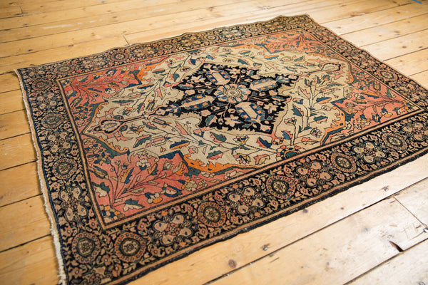 Antique Farahan Sarouk Square Rug / ONH item 7124 Image 2