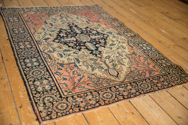 Antique Farahan Sarouk Square Rug / ONH item 7124 Image 5