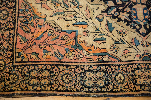 Antique Farahan Sarouk Square Rug / ONH item 7124 Image 9