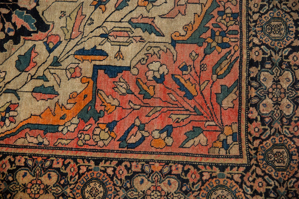 Antique Farahan Sarouk Square Rug / ONH item 7124 Image 13