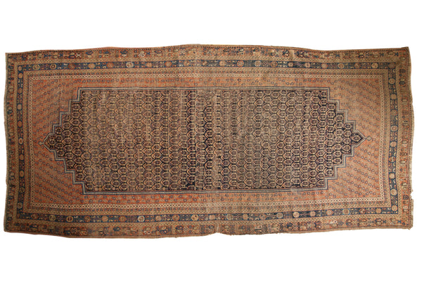 Antique Afshar Carpet / ONH item 7126