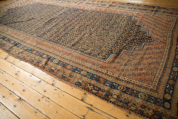 Antique Afshar Carpet / ONH item 7126 Image 6