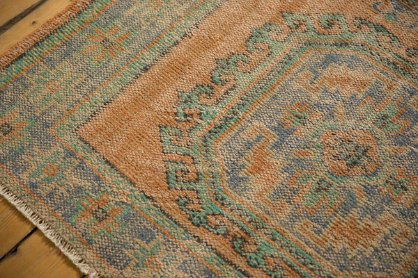 Vintage Distressed Oushak Rug Runner / ONH item 7127 Image 3