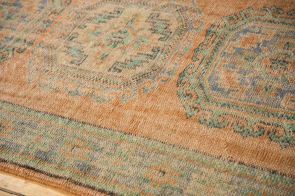 Vintage Distressed Oushak Rug Runner / ONH item 7127 Image 5