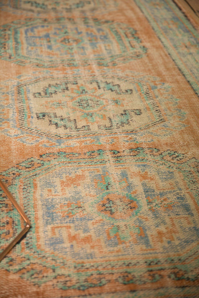 Vintage Distressed Oushak Rug Runner / ONH item 7127 Image 9