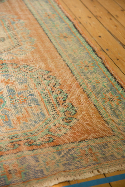 Vintage Distressed Oushak Rug Runner / ONH item 7127 Image 10