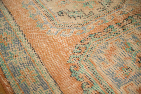 Vintage Distressed Oushak Rug Runner / ONH item 7127 Image 11