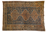 Vintage Kamseh Carpet / ONH item 7179