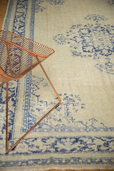 Vintage Distressed Oushak Carpet / ONH item 7295 Image 3