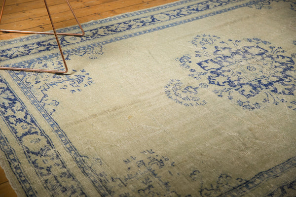 Vintage Distressed Oushak Carpet / ONH item 7295 Image 4