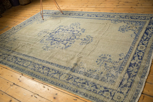 Vintage Distressed Oushak Carpet / ONH item 7295 Image 5