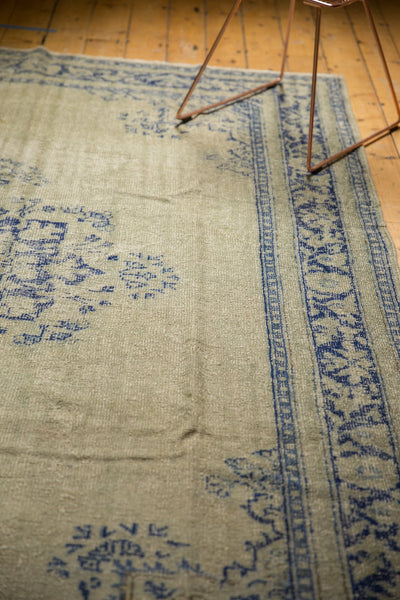 Vintage Distressed Oushak Carpet / ONH item 7295 Image 7
