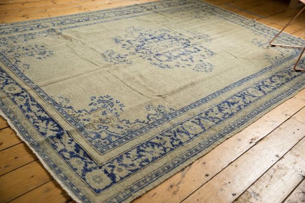 Vintage Distressed Oushak Carpet / ONH item 7295 Image 8