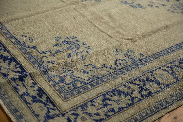 Vintage Distressed Oushak Carpet / ONH item 7295 Image 9