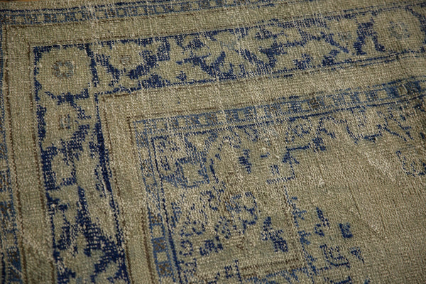Vintage Distressed Oushak Carpet / ONH item 7295 Image 10