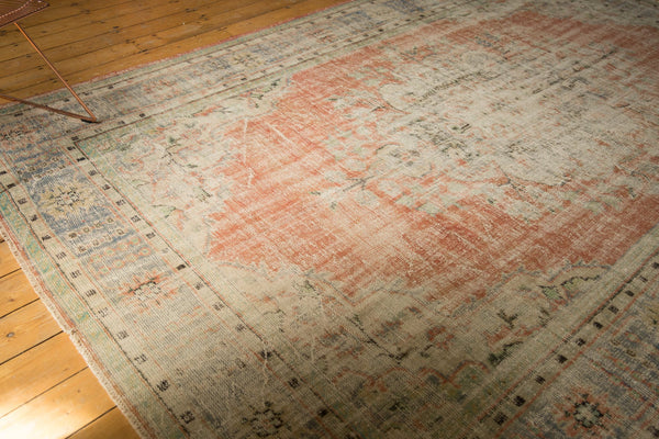 Vintage Distressed Oushak Carpet / ONH item 7299 Image 1