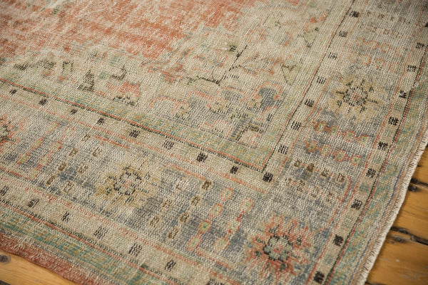 Vintage Distressed Oushak Carpet / ONH item 7299 Image 4
