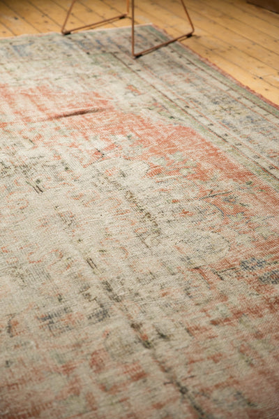 Vintage Distressed Oushak Carpet / ONH item 7299 Image 5