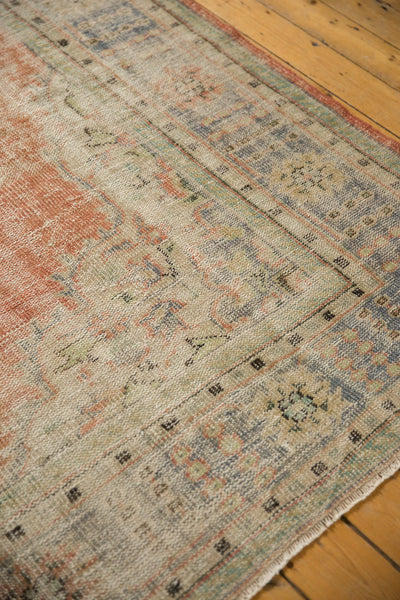Vintage Distressed Oushak Carpet / ONH item 7299 Image 6