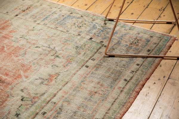 Vintage Distressed Oushak Carpet / ONH item 7299 Image 7