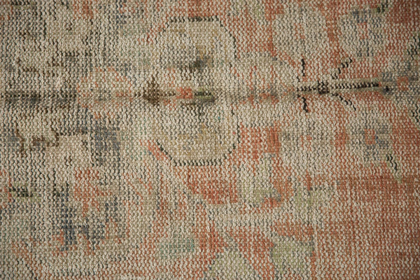 Vintage Distressed Oushak Carpet / ONH item 7299 Image 14