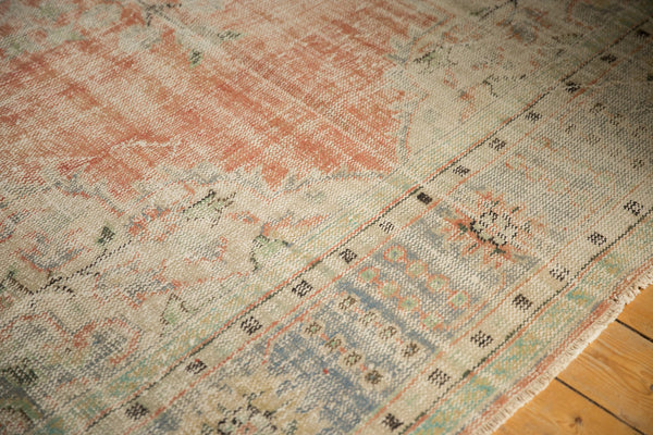 Vintage Distressed Oushak Carpet / ONH item 7299 Image 15