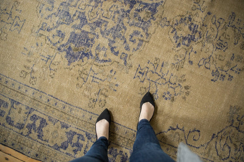 Vintage Distressed Oushak Carpet / ONH item 7300 Image 1
