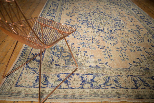 Vintage Distressed Oushak Carpet / ONH item 7304 Image 2