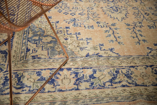 Vintage Distressed Oushak Carpet / ONH item 7304 Image 3