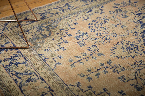 Vintage Distressed Oushak Carpet / ONH item 7304 Image 4
