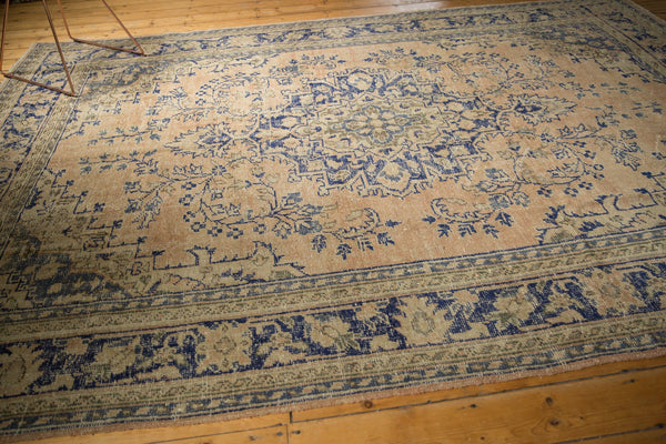 Vintage Distressed Oushak Carpet / ONH item 7304 Image 5