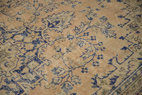 Vintage Distressed Oushak Carpet / ONH item 7304 Image 6