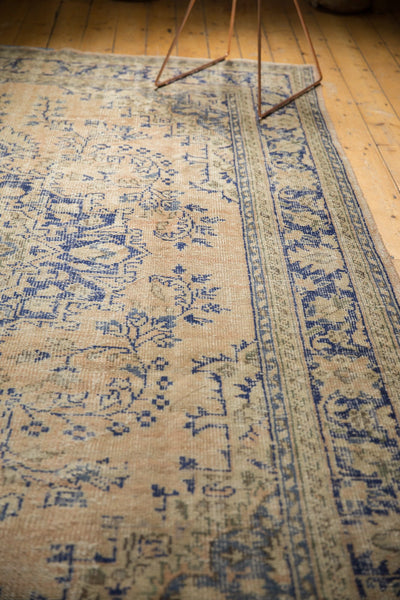 Vintage Distressed Oushak Carpet / ONH item 7304 Image 8