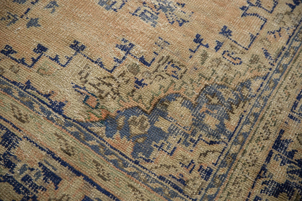 Vintage Distressed Oushak Carpet / ONH item 7304 Image 10
