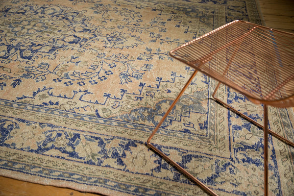 Vintage Distressed Oushak Carpet / ONH item 7304 Image 11