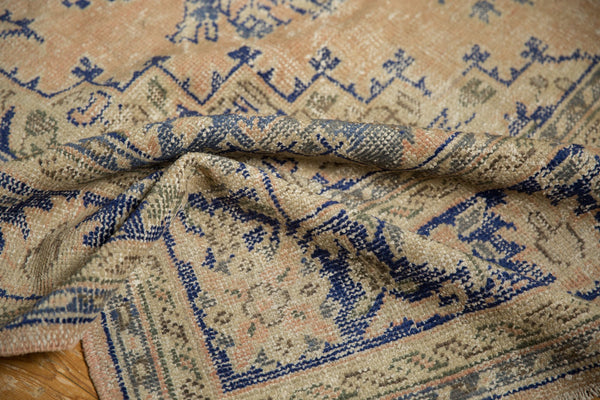 Vintage Distressed Oushak Carpet / ONH item 7304 Image 14
