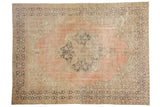 Vintage Distressed Oushak Carpet / ONH item 7306