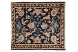 Antique Chinese Square Rug / ONH item 7356
