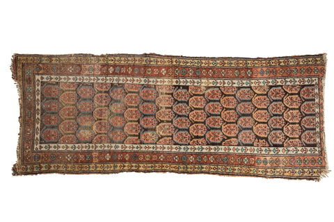 Antique Northwest Persian Rug Runner / ONH item 7363
