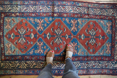 Vintage Malayer Rug Runner / ONH item 7365 Image 1