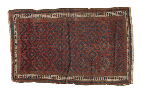 Antique Belouch Rug / ONH item 7373