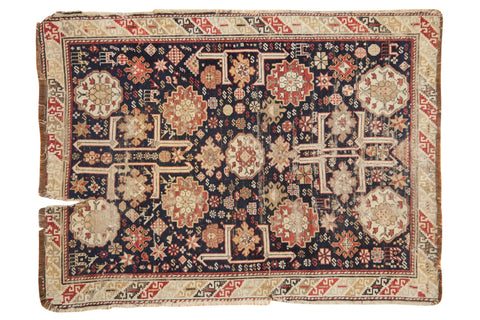 Antique Caucasian Rug / ONH item 7379